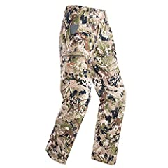 PURPOSE: The Traverse Pant is constructed to help the big game hunter cover miles of mountain terrain with minimal resistance FEATURES: The 4-way stretch polyester gives maximum fit, feel and mobility in a streamlined build. This pant is proven to pe...