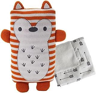 Lolli Living Softie Plush & Blankie (Jacob Fox). Baby Fox Stuffed Animal with Security Blanket