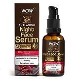 WOW Skin Science Anti Aging Night Face Serum - Oil Free - Anti