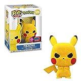 Funko Pop! Games: Flocked Grumpy Pikachu 2020 NYCC Exclusive Vinyl Figure #598