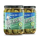 Best Dill Pickles - SuckerPunch Gourmet Classic Dill Pickle Spears 24 Ounce Review