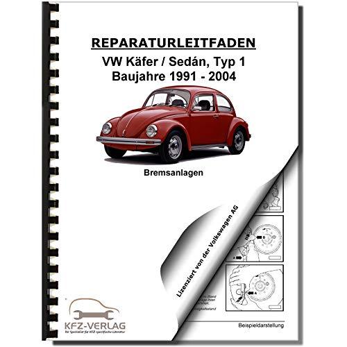 VW Käfer Sedan 1991-2004 Bremsanlagen Bremsen System Reparaturanleitung