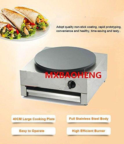 Placa GLP - Crepera máquina para crepes
