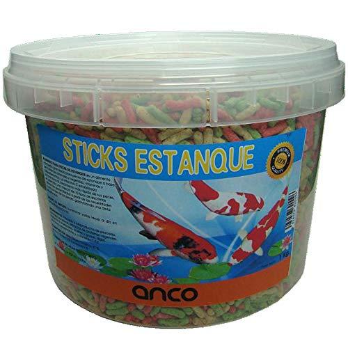 ANCO Comida para Peces Estanque, Sticks, (1 Kg)