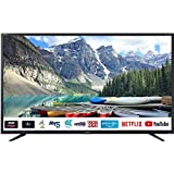 Sharp Aquos LC-40UI7352E - 40' Smart TV 4K Ultra HD, HDR Slim, Wi-Fi, DVB-T2/S2, 3840 x 2160 Pixels, Nero, suono Harman Kardon, 3xHDMI 2xUSB, 2018
