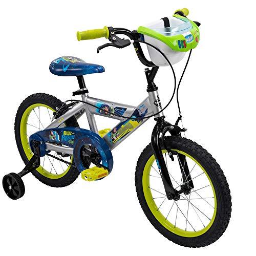"Huffy 16"" Disney/Pixar Toy Story Boys Bike, Handlebar Bin, Lime Green"