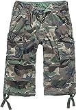Brandit Urban Leyenda 3/4 Hombre Cargo Pantalones Cortos - Woodland, M