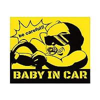 【Angelshop】<BABY IN CAR>マグネット 1枚 事故・煽り防止対策 運転
