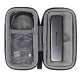 co2crea Hard Travel Case for RAVPower Mini External SSD Pro Hard Drive 512GB / 1T Portable SSD Solid State Flash Drive (Black Case)
