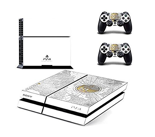 New PS4 Console Skin Sticker + 2 LED Lightbar Decals of Destiny The Taken King Limited Edition Skin Decals Designed for Sony PS4 PlayStation 4 Console and 2 Controllers Skin Covers