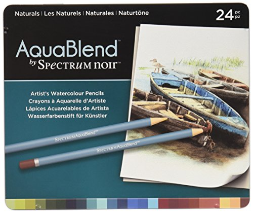 Aquablend by Spectrum Noir Spectrum Noir AquaBlend Watercolour Pencil Set - Naturals