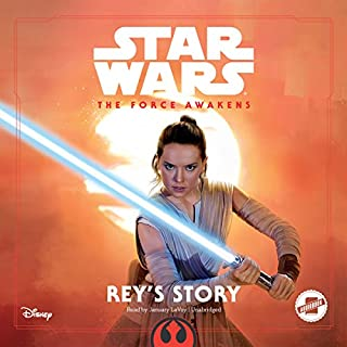 Star Wars The Force Awakens: Rey's Story cover art