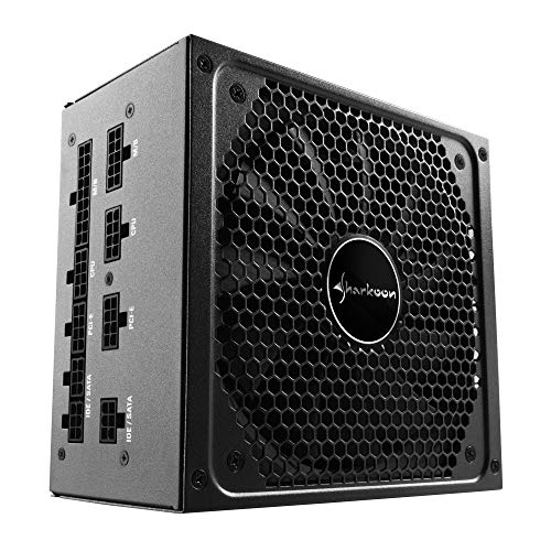 Sharkoon SilentStorm Cool Zero 650W, certificato 80 Plus Gold, completamente modulare