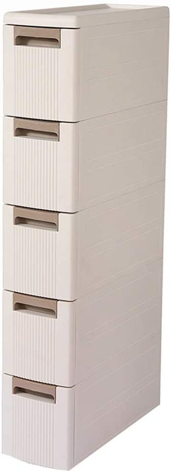 Drawer Storage Cabinet Narrow Slot Pl SeamStorage Large discharge sale Max 71% OFF with Wheel Box