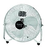 Taurus - Ventilador Sirocco14, Suelo, 3 Veloc., 130W, Asa De Transporte, Aire Multidireccional, Antideslizante, Inclinacion Ajustable ( 1 unidad )