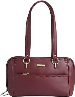 ELLIZA DONATEIN Womens PU Satchel Handbag- (S21EDIN502STBU001)