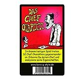 lässig-style Das ORIGINAL Chef Quartett Kartenspiel verschenken als Geschenk oder Abschiedsgeschenk...