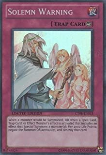 Yu-Gi-Oh! - Solemn Warning (CT08-EN015) - 2011 Collectors Tins - Limited Edit... by YuGIOH