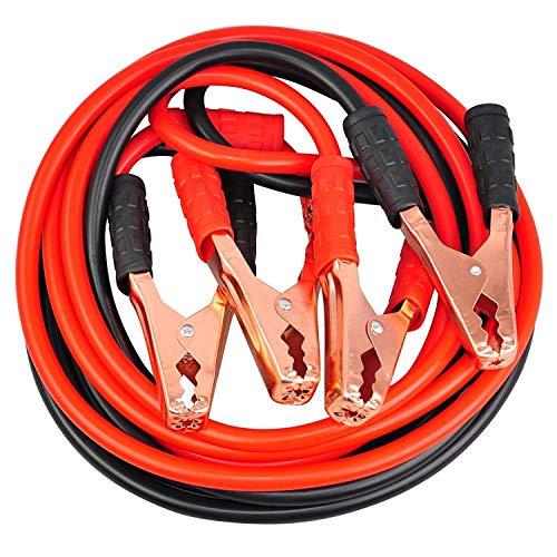 EUROXANTY® Starthilfekabel | Starthilfe Kit mit Klemmen und Tasche | für Autos, Motorräder usw. | (3000 A)