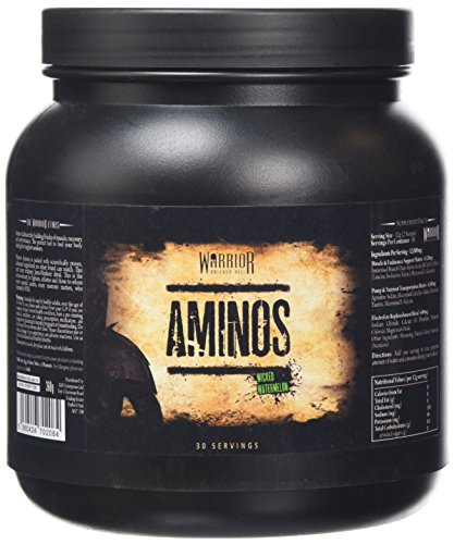 Warrior Supplements Wicked Aminos BCAA Powder, Watermelon, 360 g