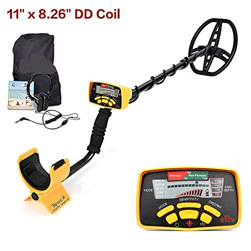 Find Bargain Wang Underground Metal Detector Gold Digger Treasure Hunter UpdatedPinpointer LCD Displ...
