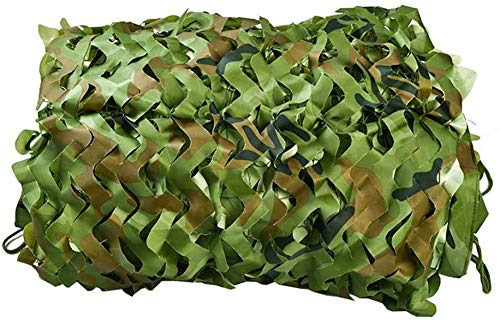 Huoo Tarnnetze, Armee Sun Mesh, Oxford Camo Stoff Net Covering Zelt Jagd Jalousien Netting (Size : 9.8x19.6ft-3x6m)