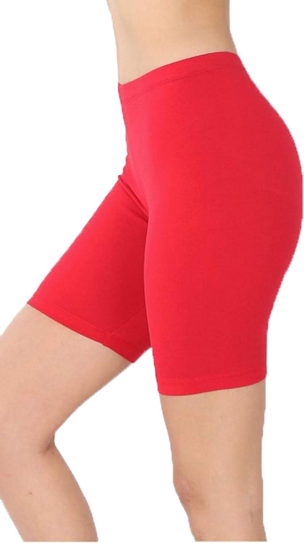 Zenana ZONE12SPORTS Financial sales sale Women's Premium Biker 2021 spring and summer new Cotton Shorts