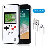 Gameboy Phone Case for iPhone, Handheld Retro Video Game Console Compatible with iPhone 11 Pro 11 X Xs 6 6s 7 8 Plus (iPhone 6/6s/7/8, 4.7')