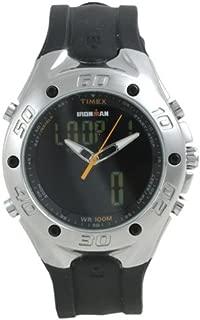 Men's T56381 Ironman Triathlon 42-Lap Combo Dual Tech Watch