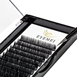 Eyelash Extensions Individual Lashes 0.20mm C Curl 8-15mm Mink Eyelash Extension Supplies Lash Extensions Professional Salon Use Black False Lashes Mink Lashes Extensions by EYEMEI (0.20-C-MIXED)