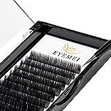 Eyelash Extensions 0.20mm C Curl 8-15mm Mixed Faux Mink Eyelash Extension Supplies Individual Eyelashes Light Professional Salon Use Black False Lashes Mink Lashes Extensions by EYEMEI (0.20-C-MIXED)