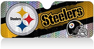 NFL Team Pittsburgh Steelers Car Front Windshield Sun Shade