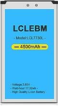 Mifi 7730l Battery [Upgraded] LCLEBM 4500mAh 7730l Jetpack Battery for Novatel Jetpack MiFi 7730L Mobile Hotspot P/N: 40123117 [24 Month Warranty]