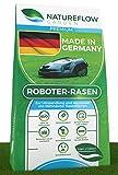 Premium Rasensamen für Mähroboter 10kg Made in Germany - Roboter Grassamen - Schnellkeimend und Vital - Selbstdüngend für pflegeleichten Garten