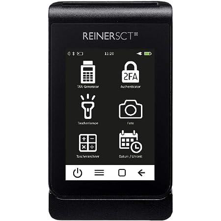 REINER SCT tanJack deluxe I Premium TAN-Generator und Authenticator I Erstklassiger TAN-Generator für Online-Banking mit chipTAN QR und Sm@rt-TAN photo