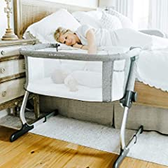 LOCAL - We are American based and design our products in Rhode Island, USA SAFE and COMFORTABLE - Sleep soundly knowing that your baby is safer and comfortable MOBILE- It is lightweight enough to move from room to room for convenience. ADJUSTABLE- 6-...