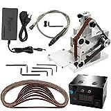 Gecheer Mini Bandschleifer Elektrische Bandschleifmaschine Poliermaschine Cutter Schleifmaschine Werkzeug Kanten Spitzer Typ 4