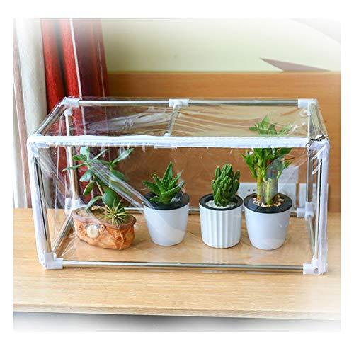 Gzhenh Invernadero Pequeño Transparente Paño Impermeable A Prueba De Polvo Proteccion Solar Mantener Caliente Al Aire Libre Paño De Sombra De Jardín, 9 Tamaños (Color : Claro, Size : 120x40x40cm)