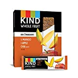 Pressed by KIND Fruit Bars, Mango Apple Chia, No Sugar Added, Gluten Free, 1.2 Ounce (12 Count)