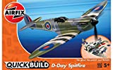 Quickbuild- D-Day Spitfire Model, Multicolor (Hornby Hobbies LTD J6045)