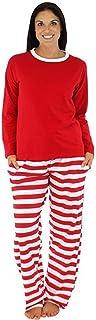 LvRao Comfortable Family Christmas Kid Mom Dad Striped Family Matching Pajama Set Sleepwear