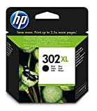 HP 302XL F6U68AE cartouche d'encre noire grande capacité authentique pour HP DeskJet 2130/3630 et...