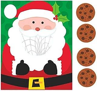 amscan Multicolored Santa Disc Toss | Christmas Activity