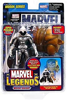 Marvel Legends Series 15 Action Figure Moon Knight Silver Variant