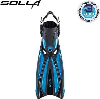 TUSA SF-22 Solla Open Heel Scuba Diving Fins