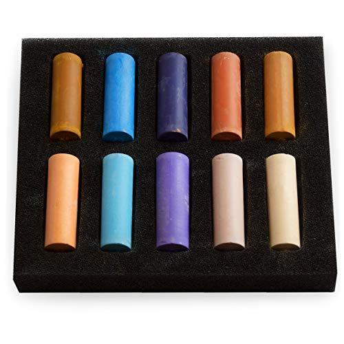 Royal Talens Rembrandt Lot de 10 pastels souples Demi-taille
