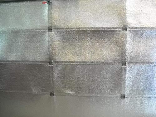 US Energy Products Supershield Reflective Foil Single Car Garage Door Insulation Foam Core Kit (Fits 8x7 8x8 9x7 9x8)