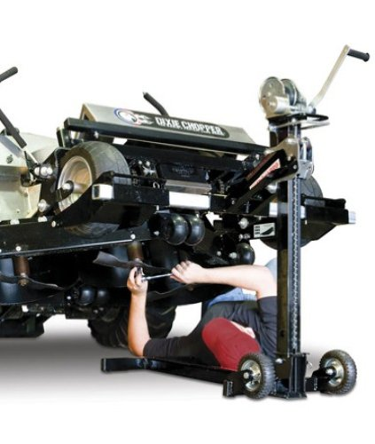 MoJack MJPRO 750-Pound Lift For Tractors And Zero Turn Lawn Mowers