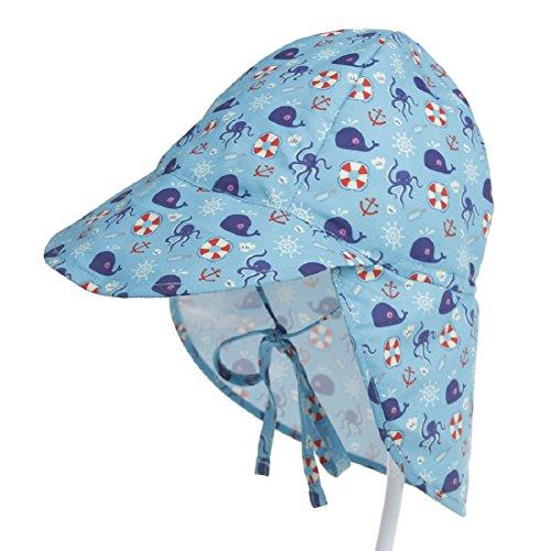 Boomly Niños Bebé Sombrero para El Sol UV50 + Proteccion Verano Pescar...