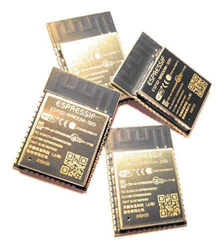 Espressif 4 Stück ESP-WROOM-32D, ESP32 WiFi+BT+BLE Module